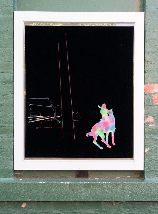 Susie Elliott and Helen Martin, Our Mary Still no. 2, 2015, second panel