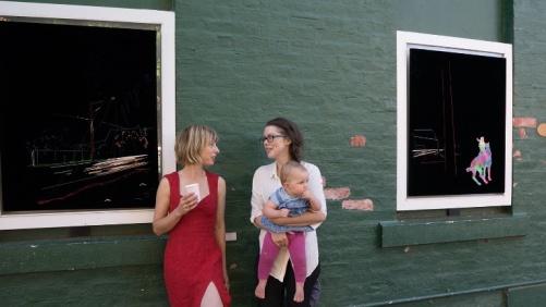 Wide Open Road curators Helen Martin and Susie Elliott
