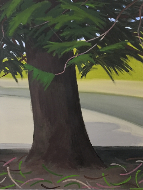 Marshman, Melinda Parkland Pine, 87.5 x 66cm, oil on canvas, 2017 Final